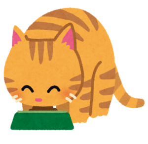 猫におすすめのエサ