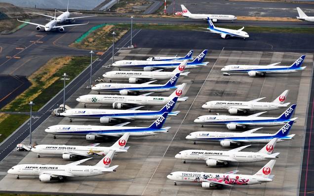 GWの飛行機の予約が9割減 航空各社、外出自粛が響く